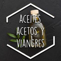 Aceites, acetos y vinagres